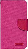 Чехол Goospery Canvas Diary Universal 4.0-4.5 Hot Pink (CaseNS813)