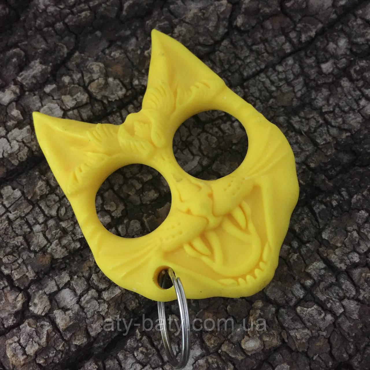 Брелок-стингер «Кошка», желтый