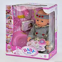 Детская кукла интерактивная пупс Baby BL 023 B