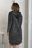 Сукня жіноча з капюшоном варенка, фото 2