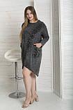 Сукня жіноча з капюшоном варенка, фото 8