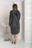 Сукня жіноча з капюшоном варенка, фото 9