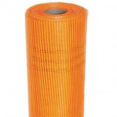 Сетка штукатурная армировочная оранжевая 50 метров плотность 160 гр/м