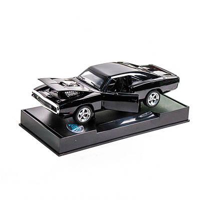Машинка инерционная Dodge Charger RT черная