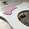 Дзеркало в дитячу біле Owl D1, фото 3