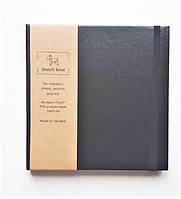 Скетчбук для Маркеров 15*15 см, 48лист, 170г, в твердой обложке mini Sketch Terier