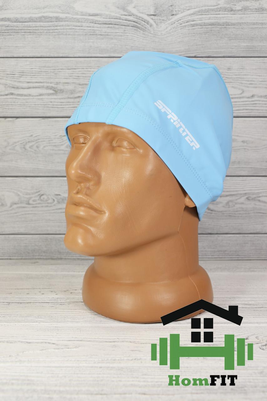 Шапочка для плавания Sprinter голубая