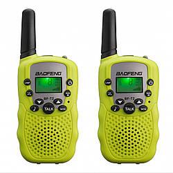 Рация Baofeng MiNi BF-T2 PMR446 2шт Yellow