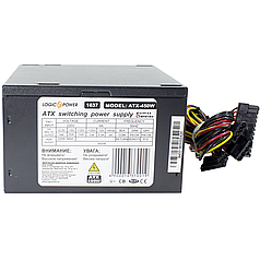 ϞБлок питания LogicPower ATX-450W компьютерный под среднюю сборку