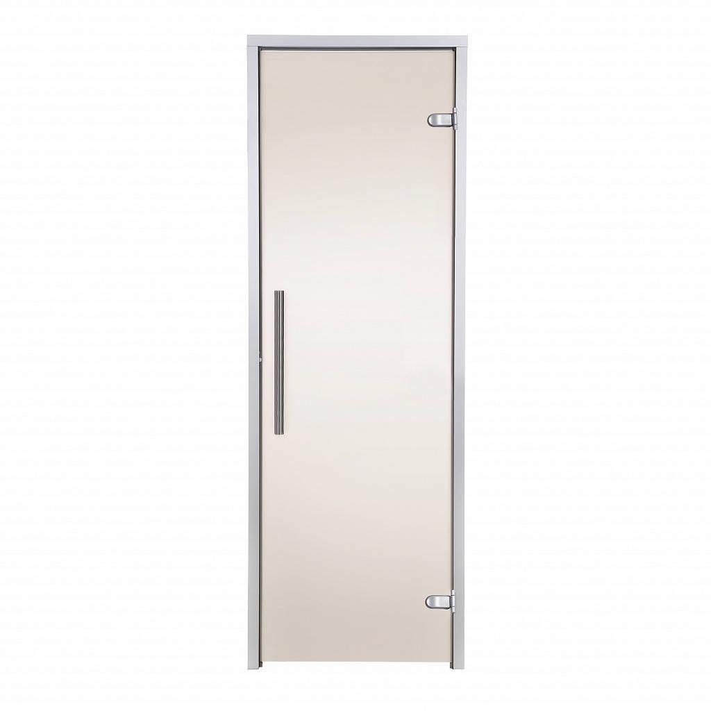 Дверь GREUS Premium хаммам 70х190 бронза