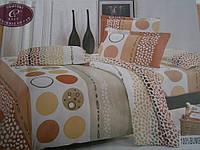 Постельное белье с абстракцией из хлопка (бязь) двухспальное , фото 1