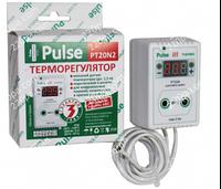 Терморегулятор PULSE PT20-N2 2кВт  датчик 1500см, фото 1
