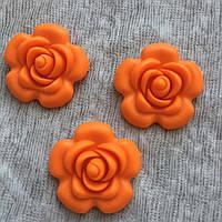 Роза большая (оранжевая)