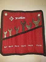Набір ріжкових ключів від 6 шт. ЗУБР 2703-Н6