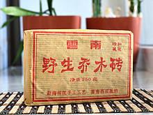 """Китайский Чай Шу Пуэр """"Старый кирпич с диких деревьев"""" 2008 год. 250 граммов"""