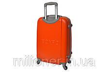 Чемодан ручная кладь Bonro Smile (мини) оранжевый, фото 2