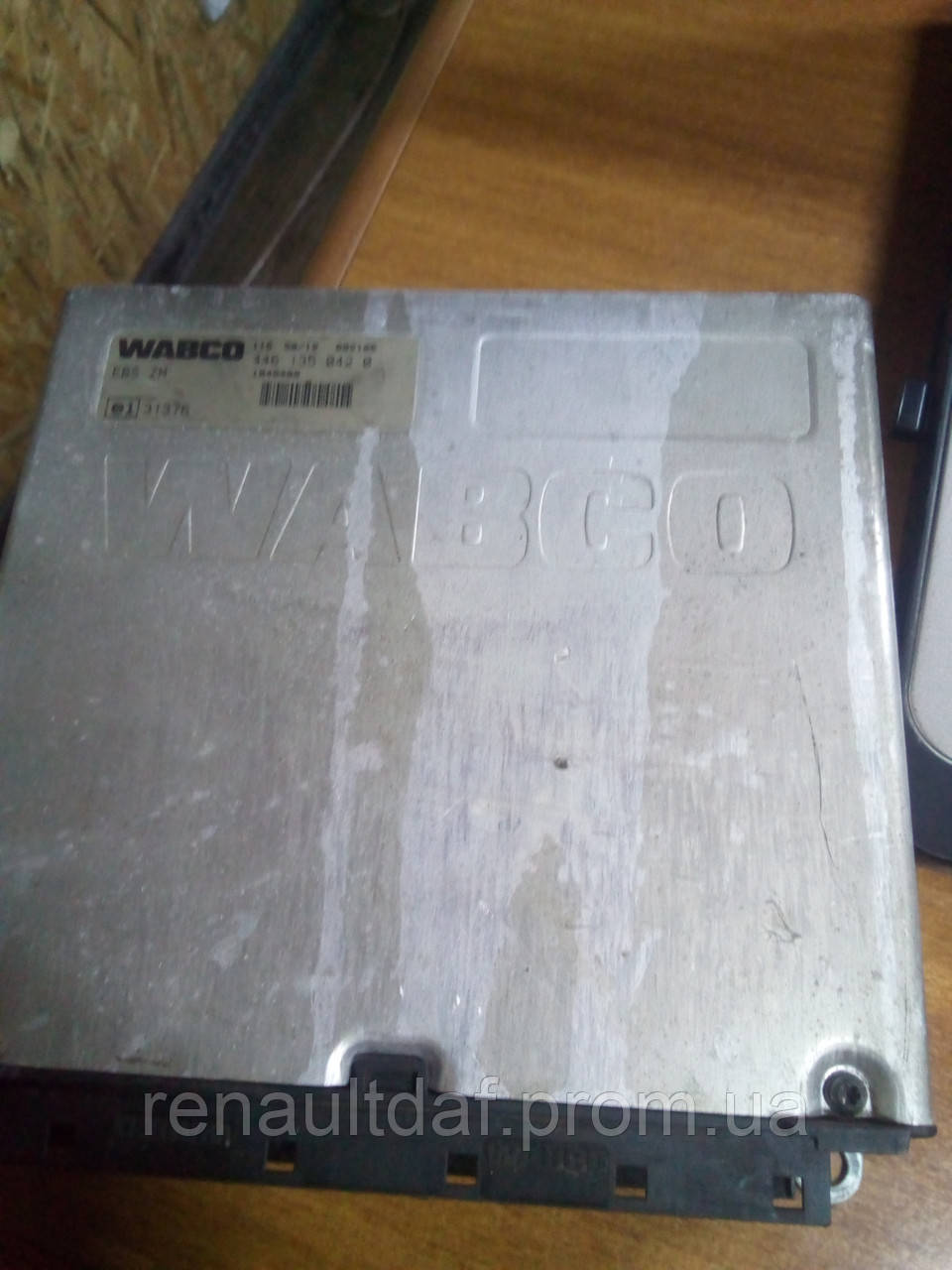 Блок электронный EBS тормозной системы EBS. Оригинальный № 1840400