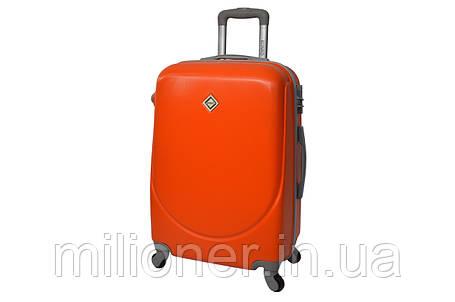 Валіза Bonro Smile (невеликий) помаранчевий, фото 2