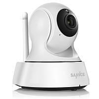 Поворотная Wi-Fi IP камера Sannce.Беспроводная WiFi / IP видеокамера!!!, фото 1