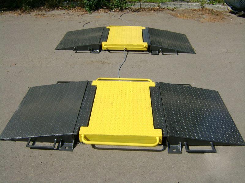Весы автомобильные подкладные АКСИС-15П (в динамике)