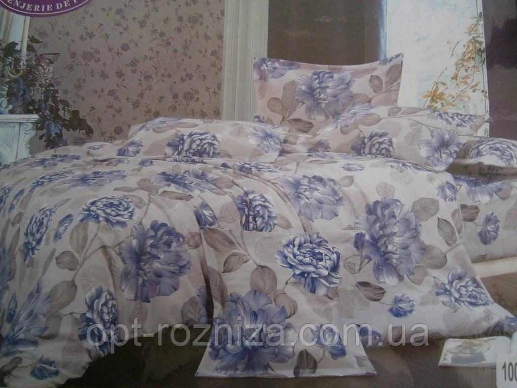 Хлопковые полуторные постельные комплекты
