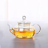"""Чайник стеклянный """"Классический"""", 600 мл. Заварочный чайник, фото 3"""