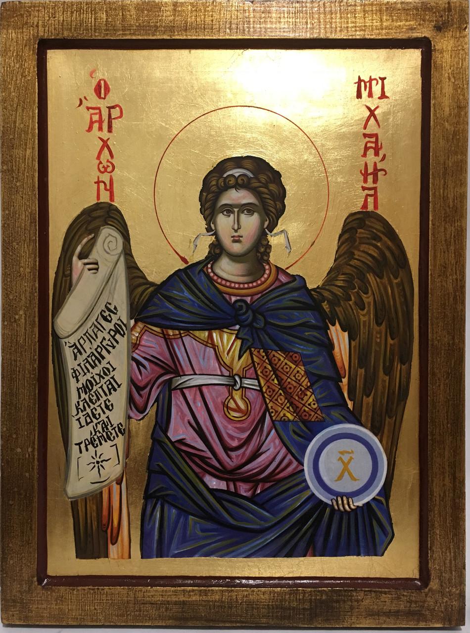 Икона Михаил со Свитком