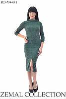 Стильное платье ПЛ3-794 (р.48-58), фото 1