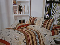 Полуторное постельное белье для дома из бязи в клетку, фото 1
