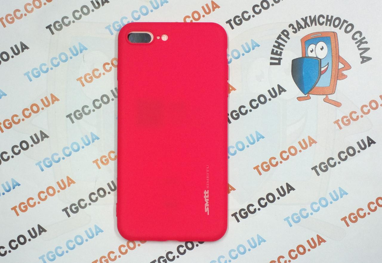 Чехол SMTT для iPhone 8 Plus - красный