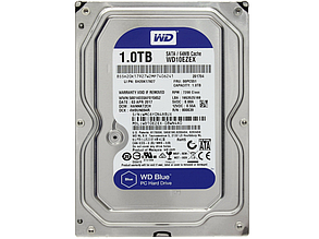 "Жесткий диск Western Digital WD10EZEX 1TB 3.5"" 64MB ""Over-Stock"" Б/У"