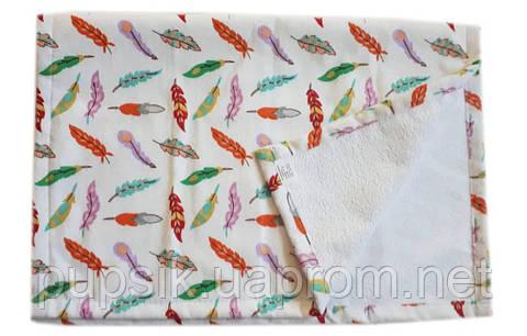 Пеленка непромокаемая фланелевая 50 70 см - яркие красивые расцветки ... b578fcb5dd8