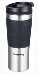 Термокружка Klausberg KB-7150 480мл Сріблясто-Чорна