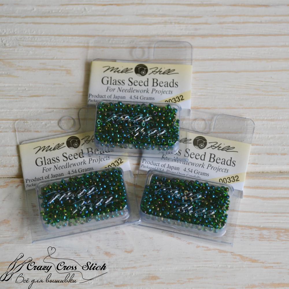 Бисер Glass Seed Beads Mill Hill 00332