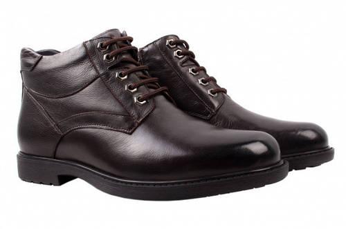 Ботинки Salenor натуральная кожа, цвет коричневый 44