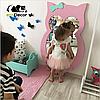 Дзеркало в дитячу рожеве Owl D1, фото 3