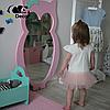 Дзеркало в дитячу рожеве Owl D1, фото 4