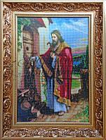 """Схема для вышивки """"Иисус стучит в дверь"""""""