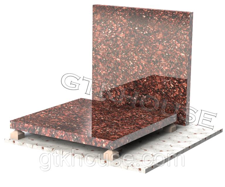 Плитка гранітна Токівська 300*300*20