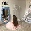 Зеркало в детскую комнату Owl голубое, фото 6