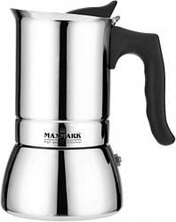 Гейзерная кофеварка Maxmark MK-S106 300 мл Стальной