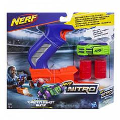 NERF NITRO Пусковое устройство (C0781 NER NITRO THROTTLESHOT BLITZ BLUE)