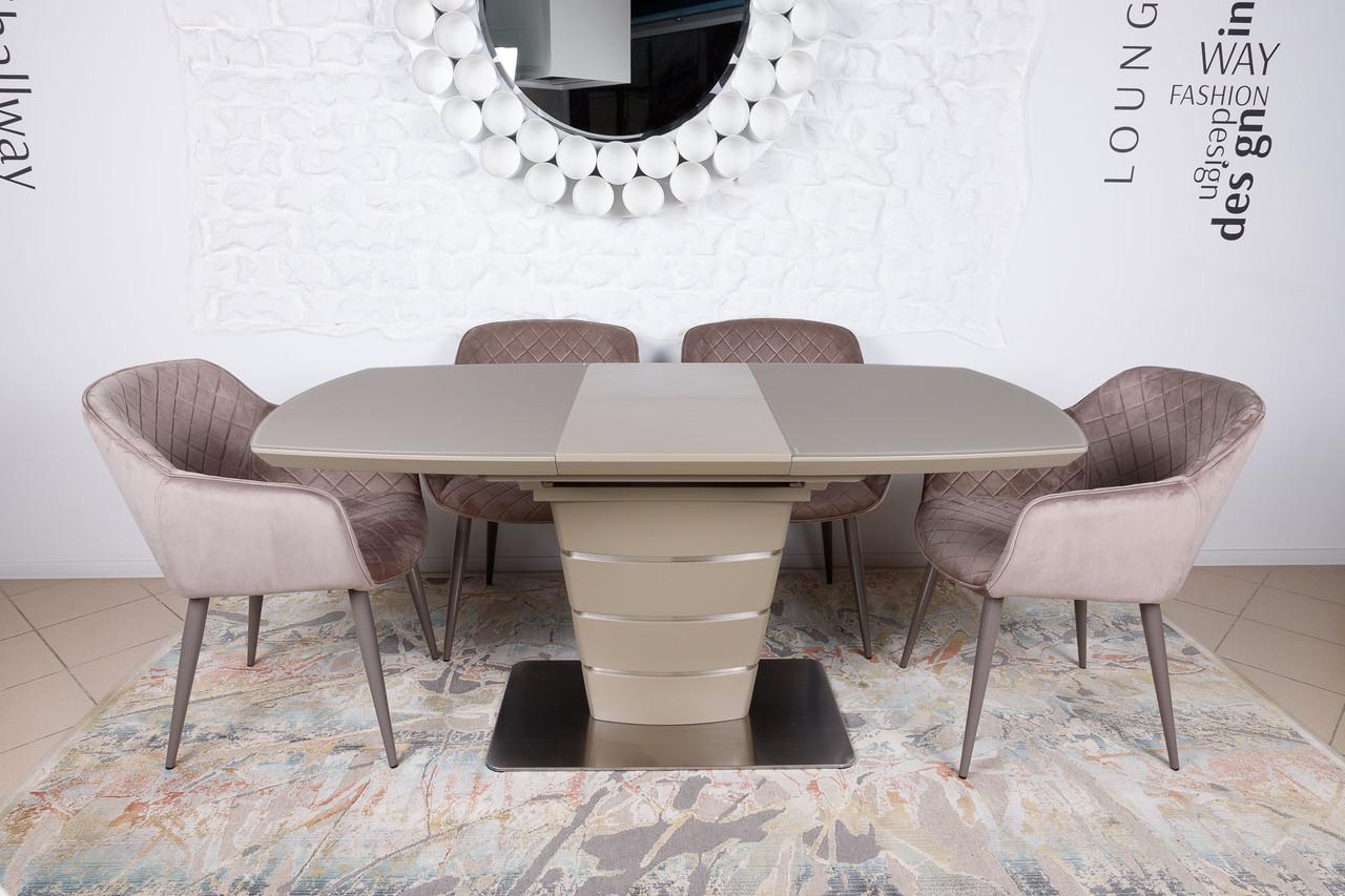 Стол обеденный ATLANTA  (Атланта) 120/160 мокко от Niсolas