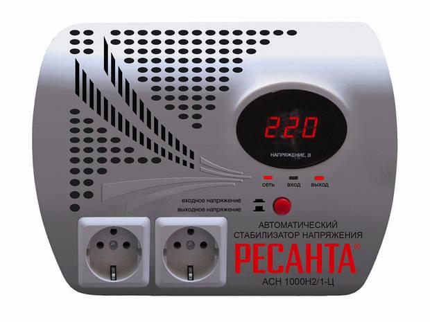 Стабилизатор напряжения Ресанта АСН-1000Н2/1-Ц Lux