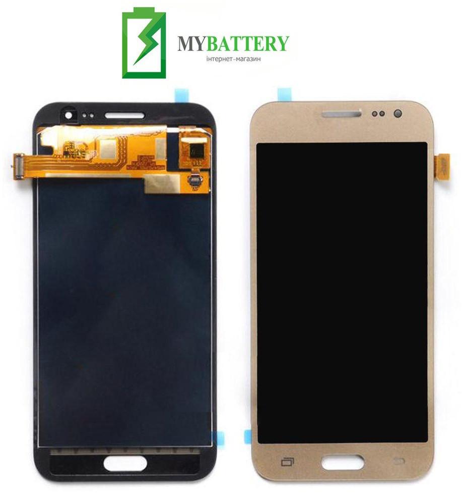 Дисплей (LCD) Samsung J700H/DS Galaxy J7/J700F/J700M TFT с сенсором золотой