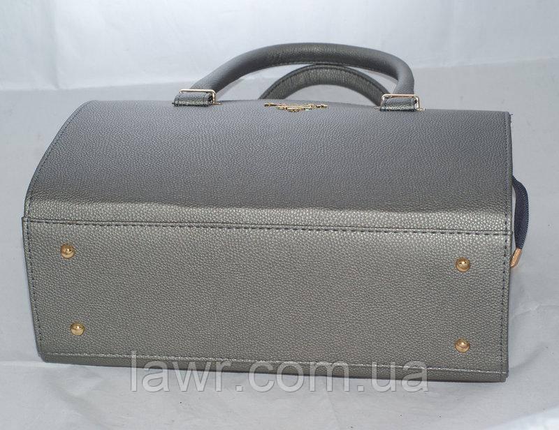 ac582a560d95 Женская Сумка саквояж Prada (серый), 058113 — в Категории