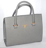 Женская сумка/саквояж Prada (серый), 058113, фото 1