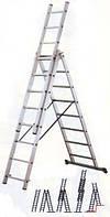 Аренда лестницы трехсекционной высотой до 8,5 метров, фото 1