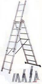 Аренда лестницы трехсекционной высотой до 8,5 метров