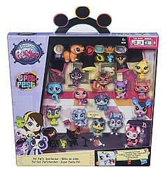 Коллекционный набор Littlest Pet ShopМаленький зоомагазин 15зверюшекCollector Party Pack